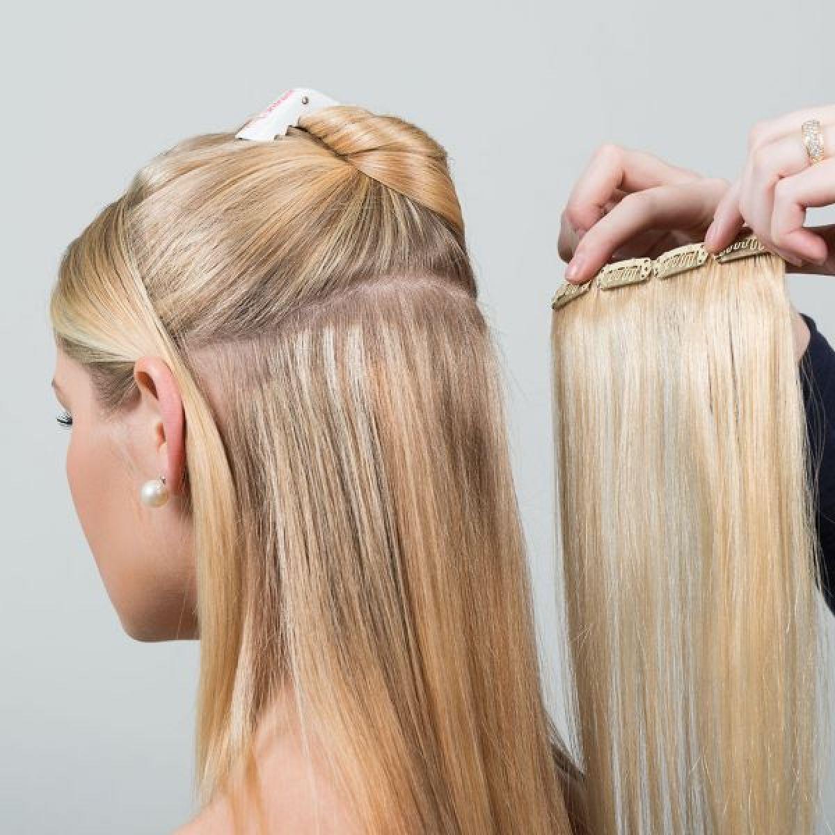 Extensions cheveux adhésifs à Saint-Gratien (95) Par Nadia - Estheca