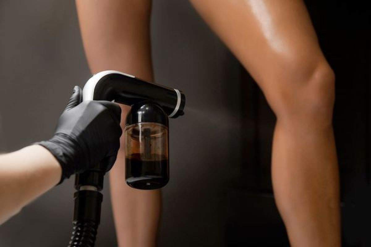 Bronzage spray tanning à Grenoble (38) Par Andrea - Estheca