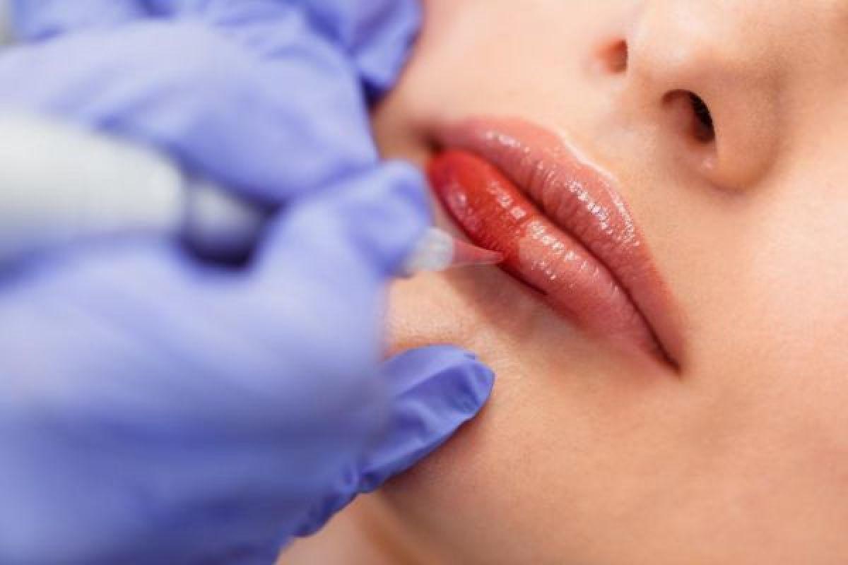 Maquillage semi permanent des lèvres (Plump Me) à Strasbourg (67) Par Birsen - Estheca